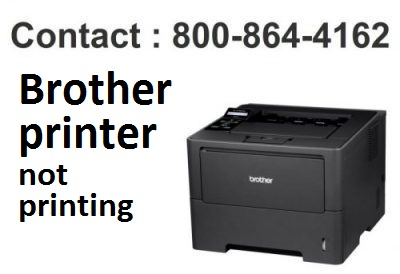 Solved Brother Printer Not Printing Contact 800 864 4162