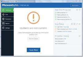 Malwarebytes Not Updating